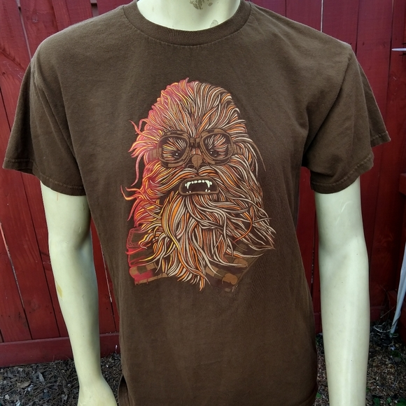 Official Licensed Star Wars Chewbacca T Shirt Sz L